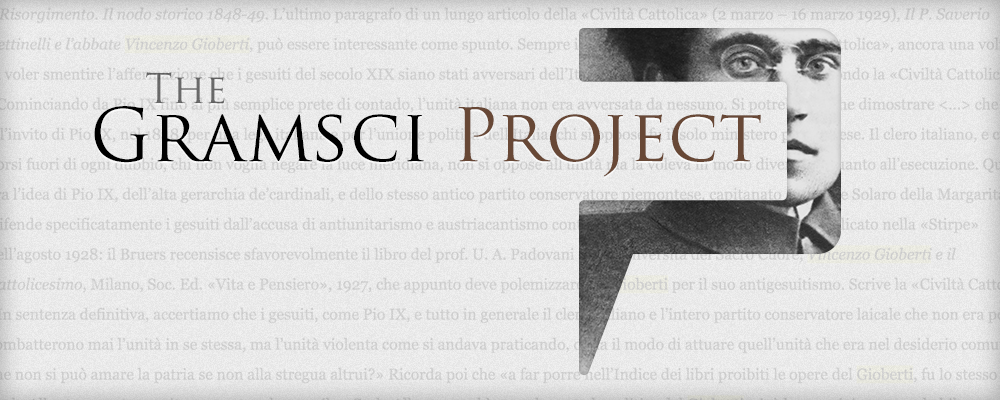 A Pundit application in Digital Humanities: Gramsci Project