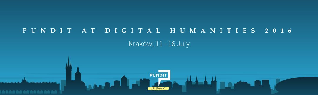 #DH2016 Kraków here we come!